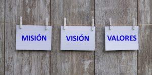 Misión, Visión y Valores de Afibrom